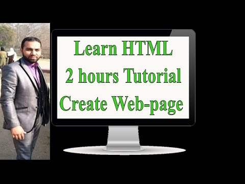 LEARN HTML || Course In 2 Hours || Html Tutorial For Beginners || Web-pages By Fiaz Hassan ||