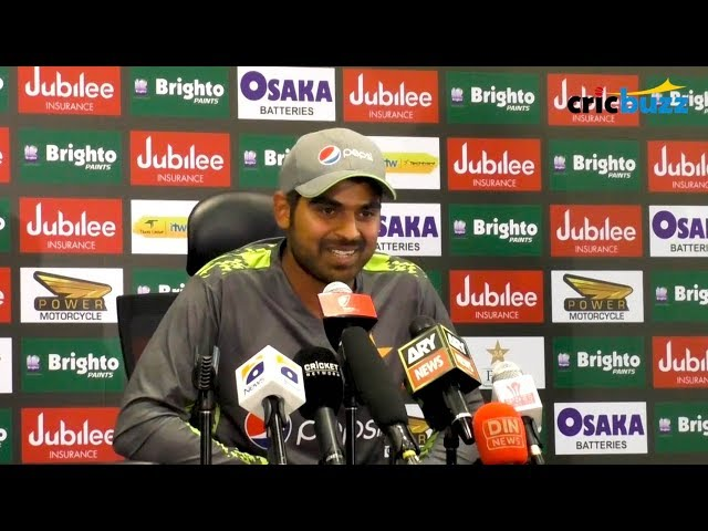 On a couple of occasions when they sledged, I turned a deaf ear on it - Haris Sohail