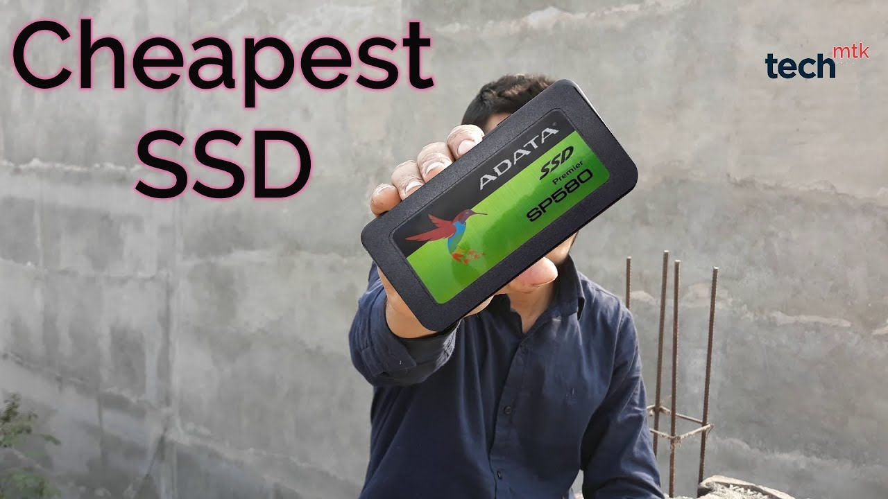 Cheapest SSD for your Laptop/ Desktop from Adata