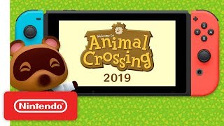 Animal Crossing is Coming to Nintendo Switch!