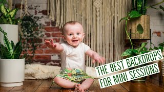 The BEST Backdrops - For Mini Sessions, Corporate Headshots, Products, & My Youtube Channel