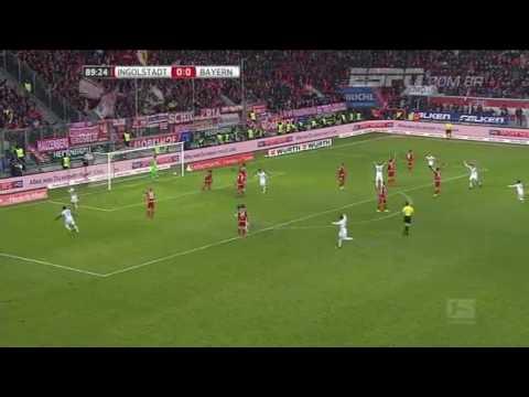 Gols - Ingolstadt 0 x 2 Bayern De Munique , Campeonato Alemão 11/02/2017 ! Inscrevam-Se ✌✌