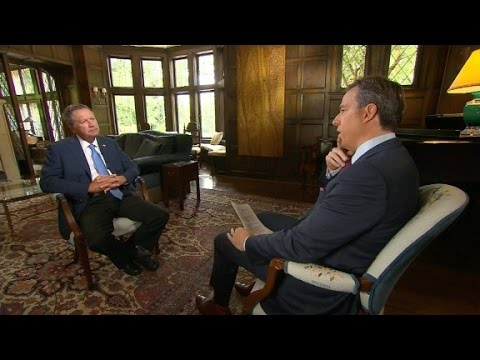 Full interview with Ohio Gov. John Kasich pt. 1
