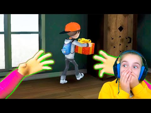 ИГРАЮ за Мисс Ти ПО СЕТИ Злая Учительница Scary Teacher 3D