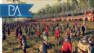 BATTLE IN THE FOREST - Medieval Kingdoms Total War 1212AD Gameplay