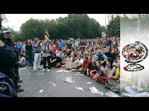 Spain's Anti-Austerity Movement (2012)