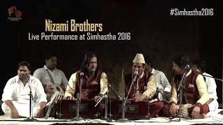 Best ever Live Sufi Performance by Nizami Bandhu | Sufi Nights | Simhastha - 2016
