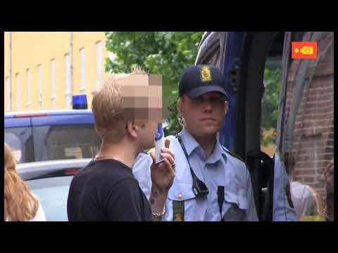 Sammenklip med politi (CADOK, 2013)