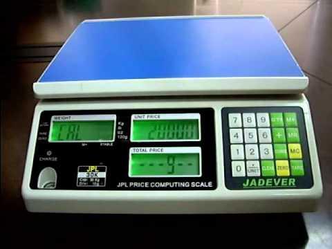 Scale calibration cws doovi - How to calibrate a bathroom scale ...