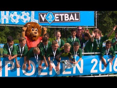 Dit was de KNVB Schoolvoetbalfinale 2016!