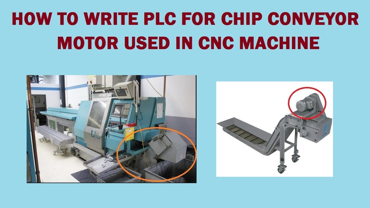 Chip conveyor motor PLC ladder logic | Fanuc Ladder Logic