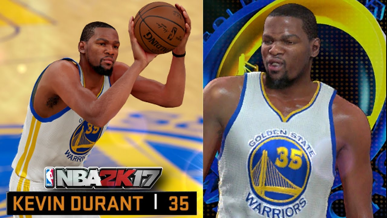 NBA 2K17 WARRIORS MOST OVERPOWERED TEAM WITH KEVIN DURANT ...