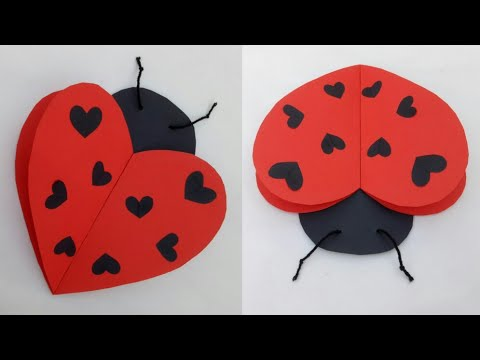 Diy Ladybug Valentines Day Craft Ideas For Kids School Project