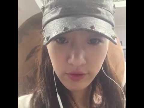 Eunjung Facebook live
