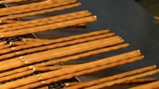 линия для производства хлебной соломки (формовка, выпечка, охлаждение)