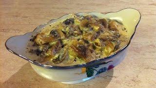 Сливочный соус с грибами. Мамулины рецепты.