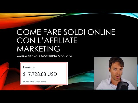 Come fare soldi online con l'Affiliate Marketing corso gratis (pratico)