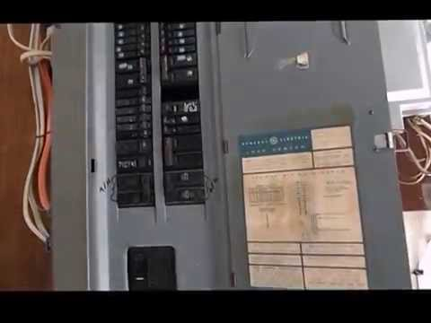 ELECTRICAL PANEL DANGER