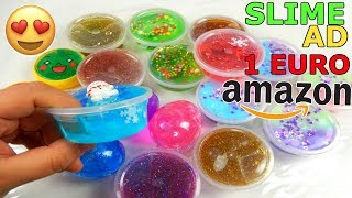SLIME AD 1 EURO COMPRATI DA AMAZON! COME SARANNO? Iolanda Sweets
