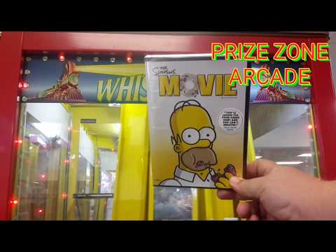 Whistle Stop 20 credit challenge, Prize Zone Arcade Pahrump Nevada