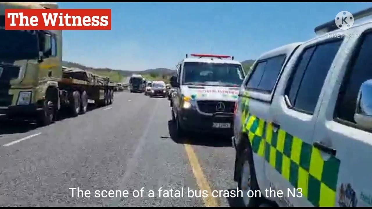 Download Bus crash on the N3 October 12, 2021
