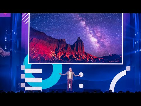 James Beacham on Solving the mysteries of time and space | #TNW2019