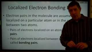 CH110 4.9 The Localized Electron Bonding Model
