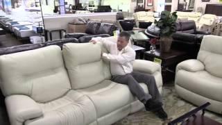 Flexsteel furniture, leather recliner, Sanford Hudson's Furniture Outlet, Orlando
