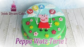 Peppa Wutz Torte / einfache Anfängertorte / Kindergeburtstagstorte / How to make a Peppa Wutz Cake
