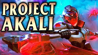 NEW REWORKED PROJECT AKALI! Balanced? Forget it! - League of Legends S9