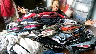 CLEANING OUT MY CLOSET | Declutter with me