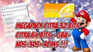 Descarga Citra 32 bits + Emuladores GBA-GBC-GB-NDS-3DS y Roms en este MegaPack!!!