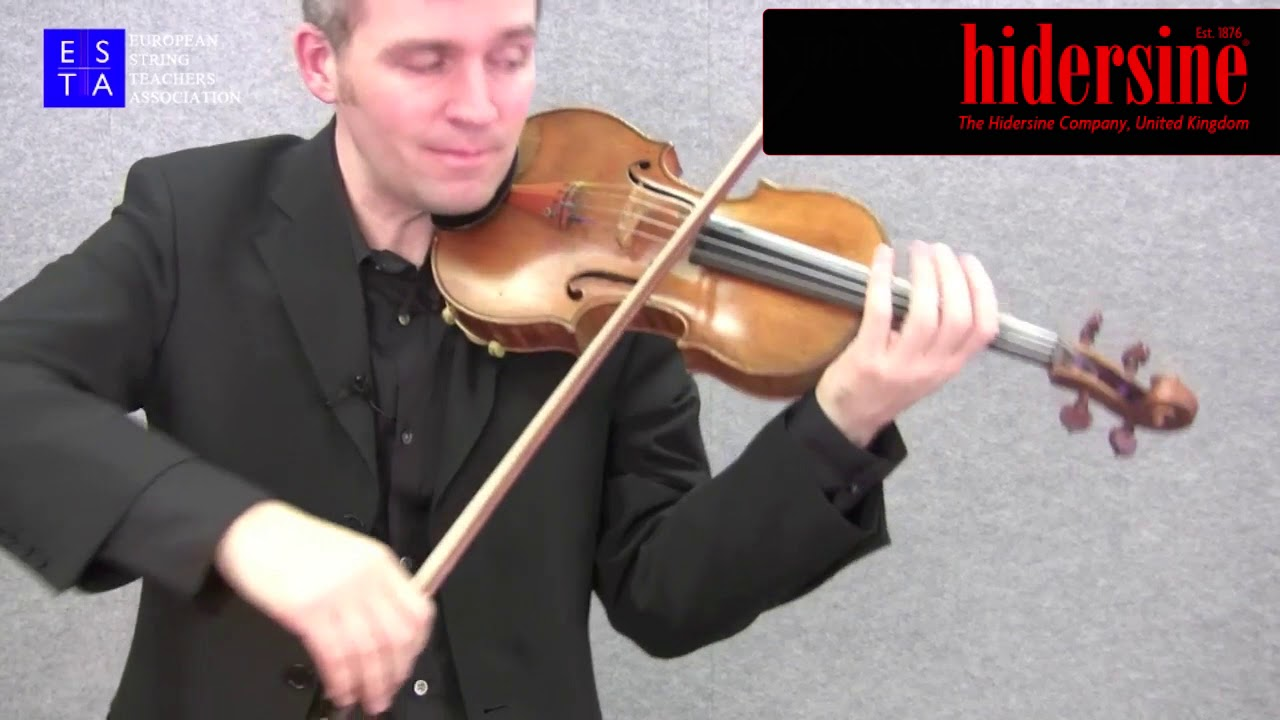 Violin technique: Portato