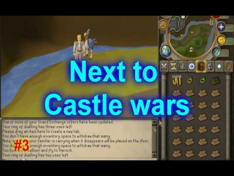 Runescape My top 5 best ways to make money (p2p) (400K-2m) 2011! Commentary!