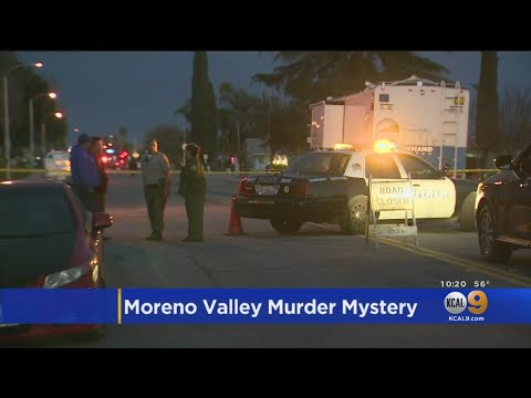 Murder Mystery At Moreno Valley Park