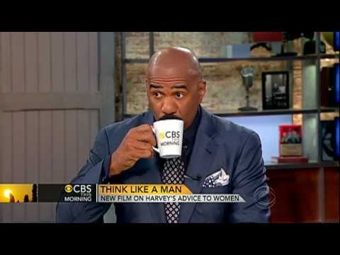 CBS This Morning  Steve Harvey on Act Like a Lady, Think Like a Man