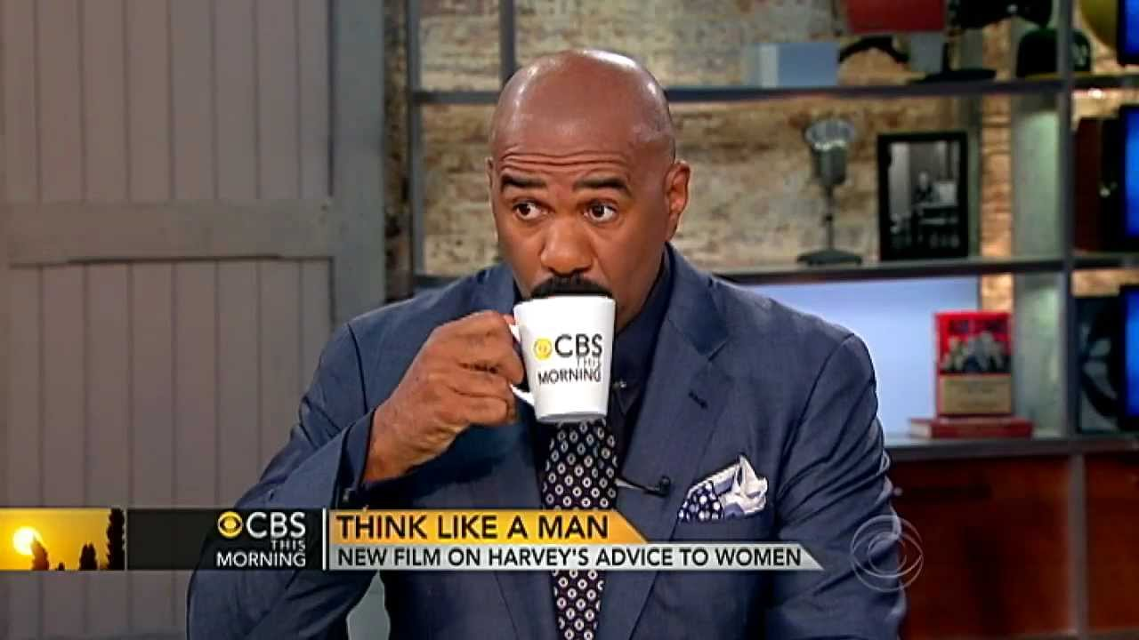 """Download CBS This Morning - Steve Harvey on """"Act Like a Lady, Think Like a Man"""""""