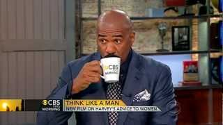 "CBS This Morning - Steve Harvey on ""Act Like a Lady, Think Like a Man"""