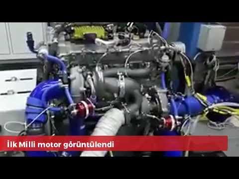 İLK MİLLİ MOTOR GÖRÜNTÜLENDİ