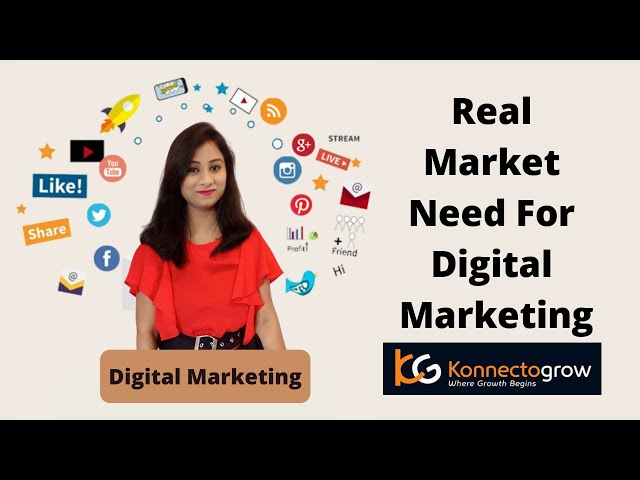 Real Market need for Digital Marketing