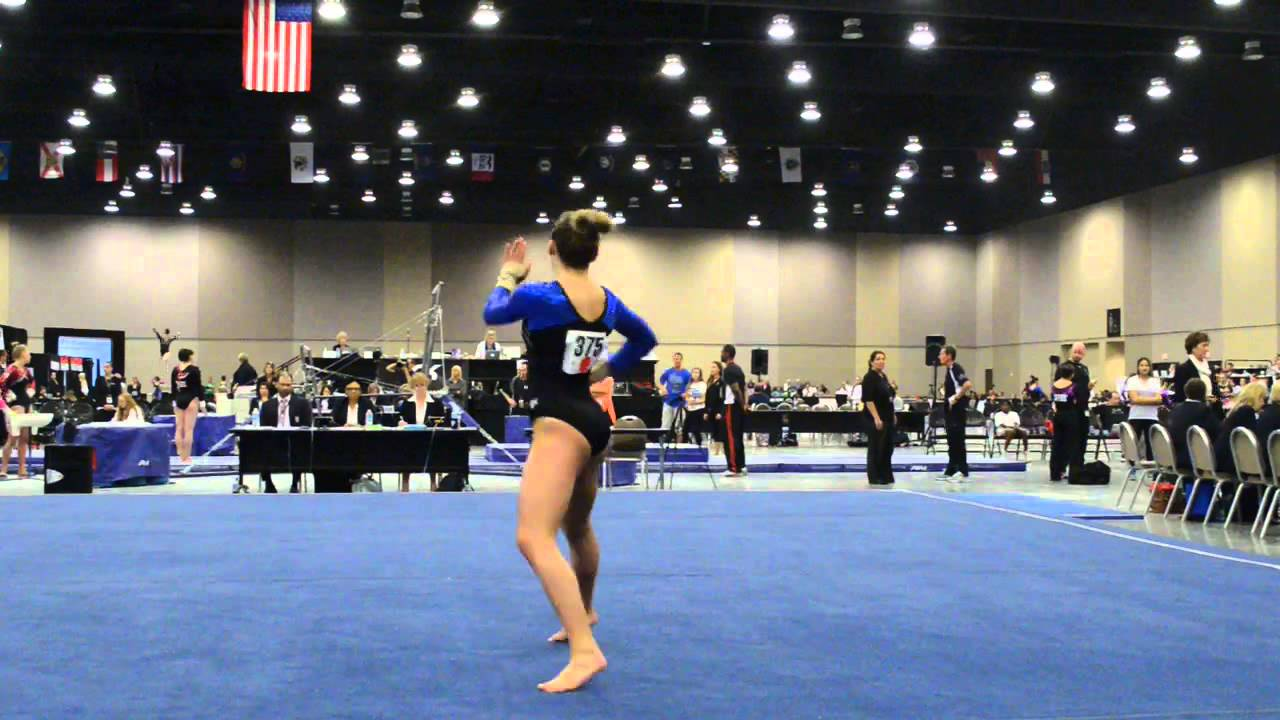 Allison Richardson 2014 Level 10 J O Nationals Nit Floor