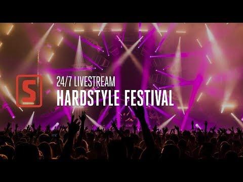 24/7 Stream   Hardstyle Festival - Best Of Euphoric, Raw & Classic