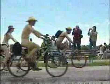 Vancouver naked bike ride 2008