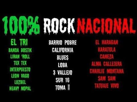 Mix 100% Rock Nacional Mexicano 2018.