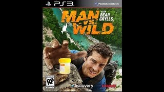 You can drink your own piss! - Man Vs Wild (PS3)