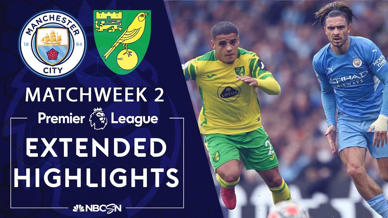 Download Manchester City v. Norwich City   PREMIER LEAGUE HIGHLIGHTS   8/21/2021   NBC Sports