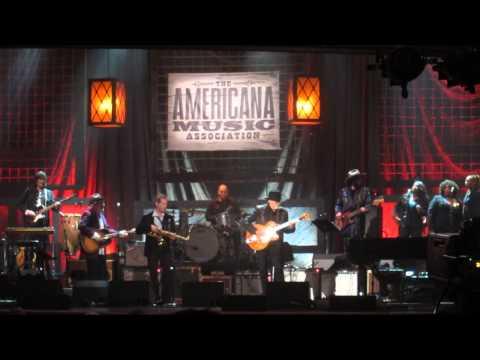 Duane Eddy Americana Music Awards 2013 Rebel Rouser Ryman Auditorium Nashville