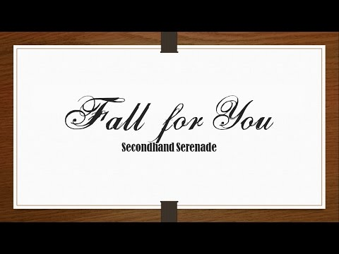 Secondhand Serenade - Fall for You (Acoustic) [Lyrics Sub Español/English]