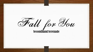 Secondhand Serenade - Fall for You (Acoustic) [Lyrics Sub Español/English]