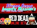 Red Dead Redemption 2 ONLINE  // Bounty missions With MarleyX Of UGGC / They PVP'ed  US!!!